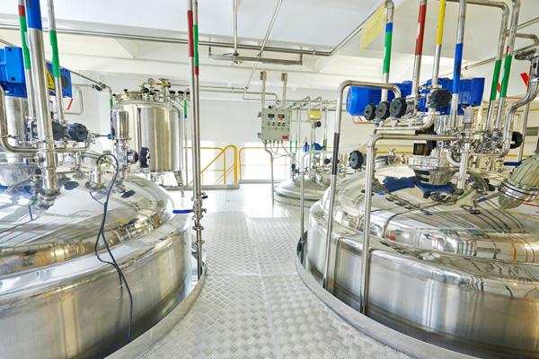 Impianti asettici di sterilizzazione ambiente, Impianti Alimentari
