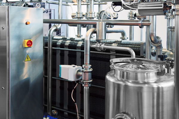 Pasteurization/sterilization machines, food systems