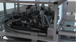 Macchina automatica assemblaggio