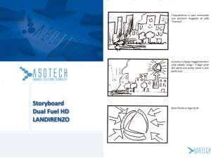 Storyboard video 3d Diesel Duel Fuel Landi Renzo