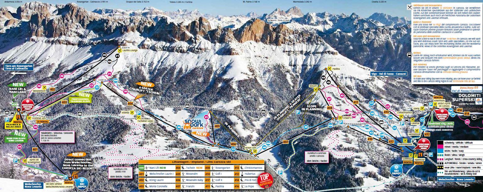 Asotech Snowday Carezza Ski