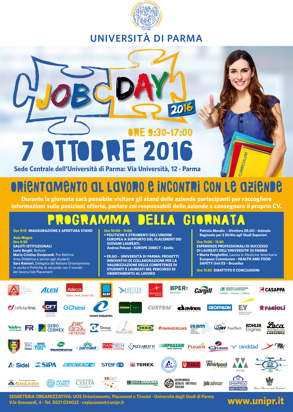 Job Day 2016 – Università Degli Studi di Parma
