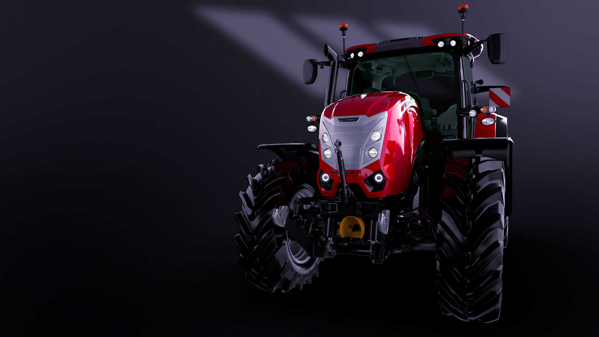 Animazione 3D trattore Argo Tractors Mc Cormick x7