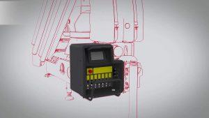 Animazione 3D di gru per camion – Gru Serie 7000 di Fratelli Ferrari