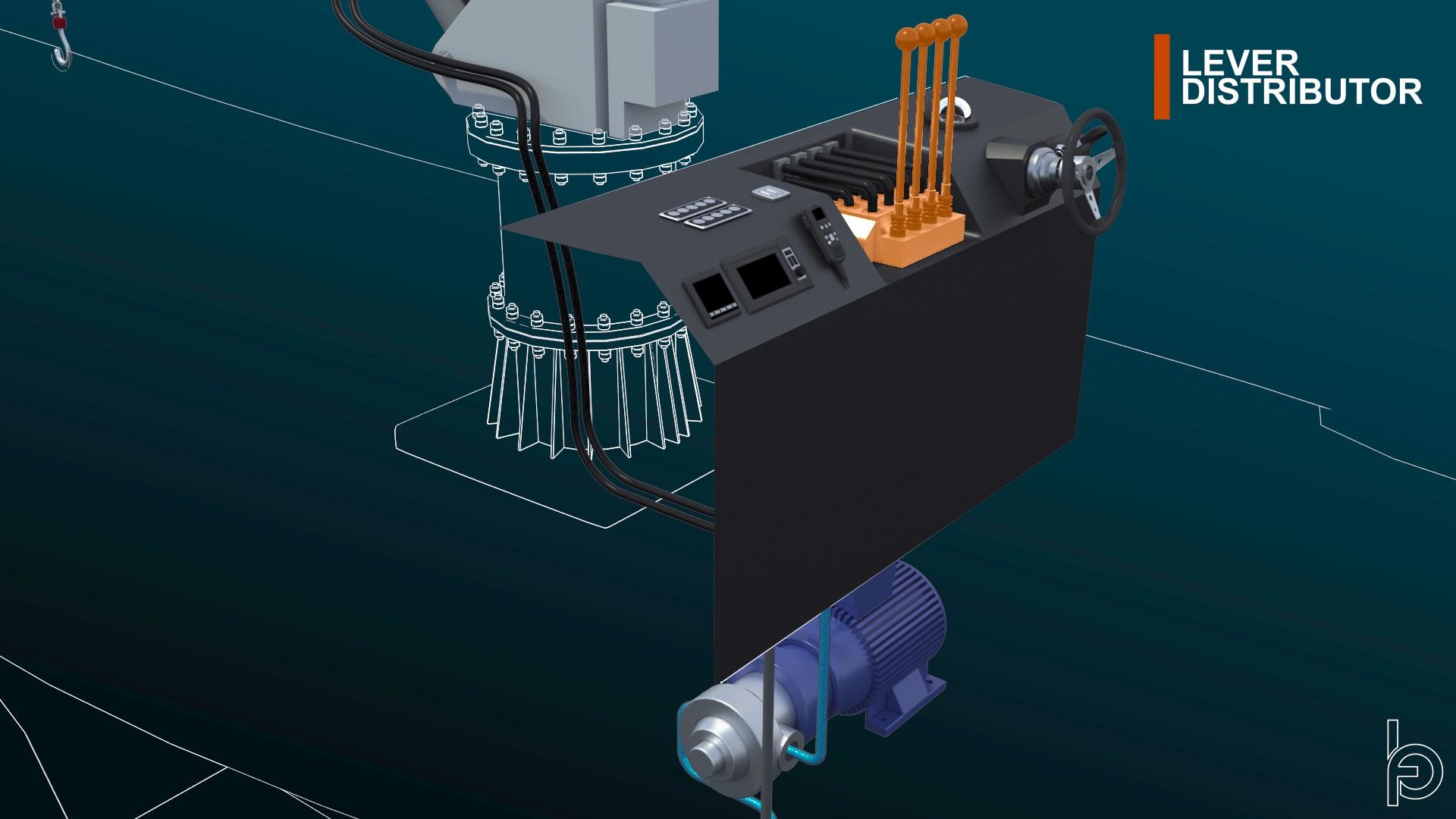 Video tecnico 3D su funzionamento valvola Inox Mare di Oleodinamica BiEffe