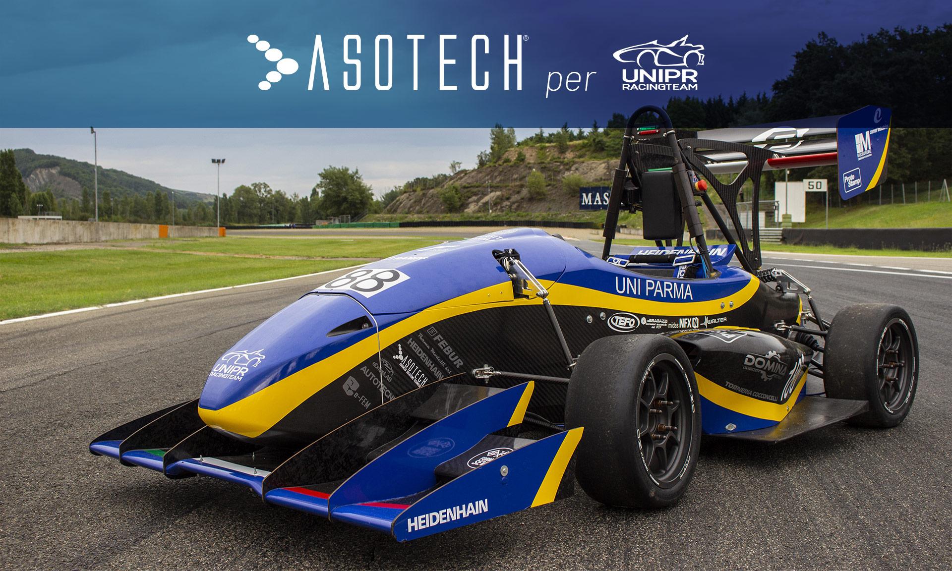 Asotech per UniPR Racing Team | Il futuro parte da qui