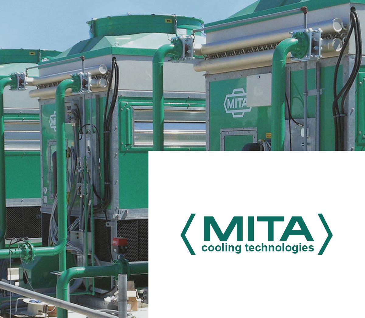 Impianti di raffreddamento di MITA Cooling Technologies con logo