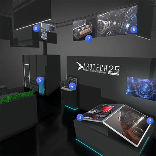 Interaction Design - Stand virtuale prodotto da Asotech