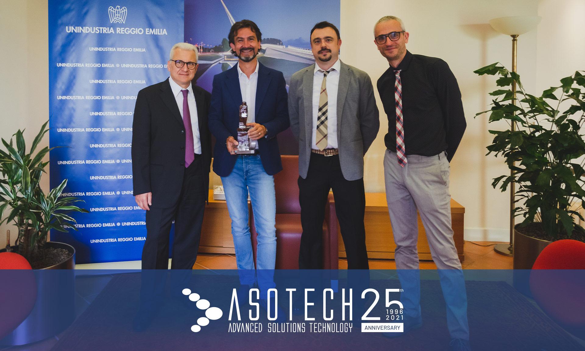 Asotech celebra 25 anni di attività